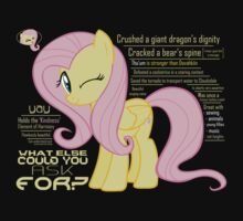 What else could anyone possibly ask for? (Fluttershy) | Unisex T-Shirt