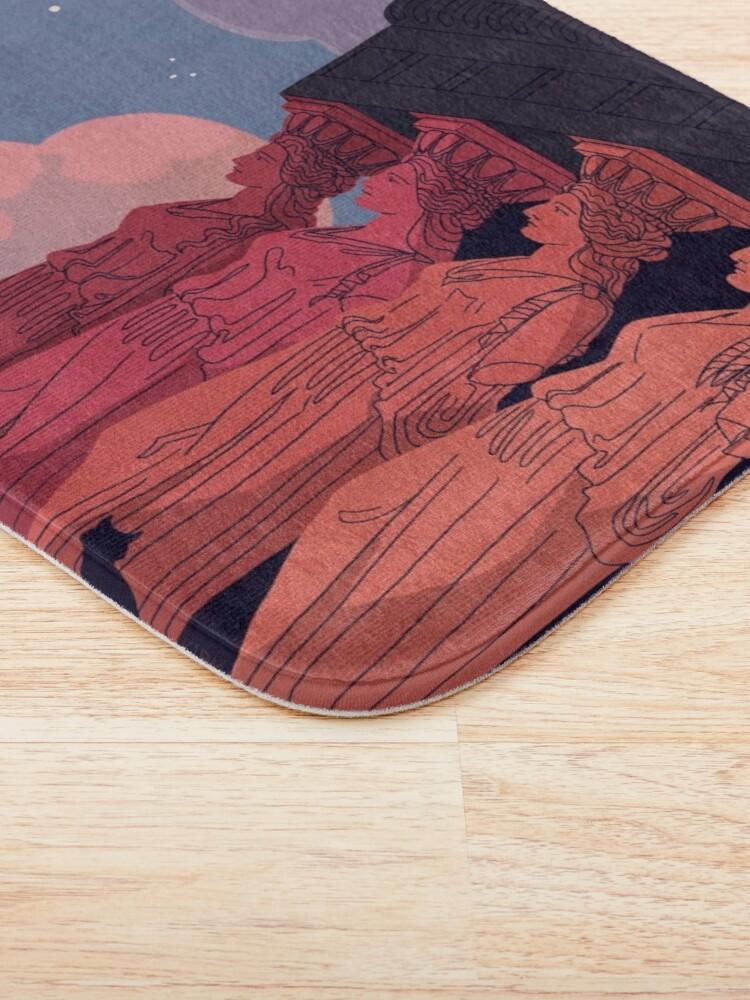 Alternate view of Caryatids at Dusk Bath Mat