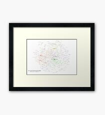 The Graph of Programming Paradigms Framed Print