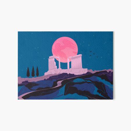 Temple of Poseidon at Sounion Art Board Print