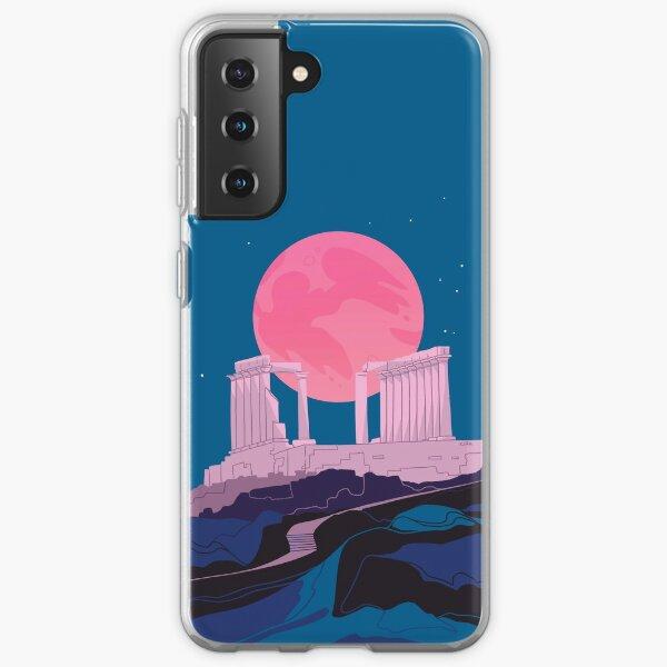 Temple of Poseidon at Sounion Samsung Galaxy Soft Case