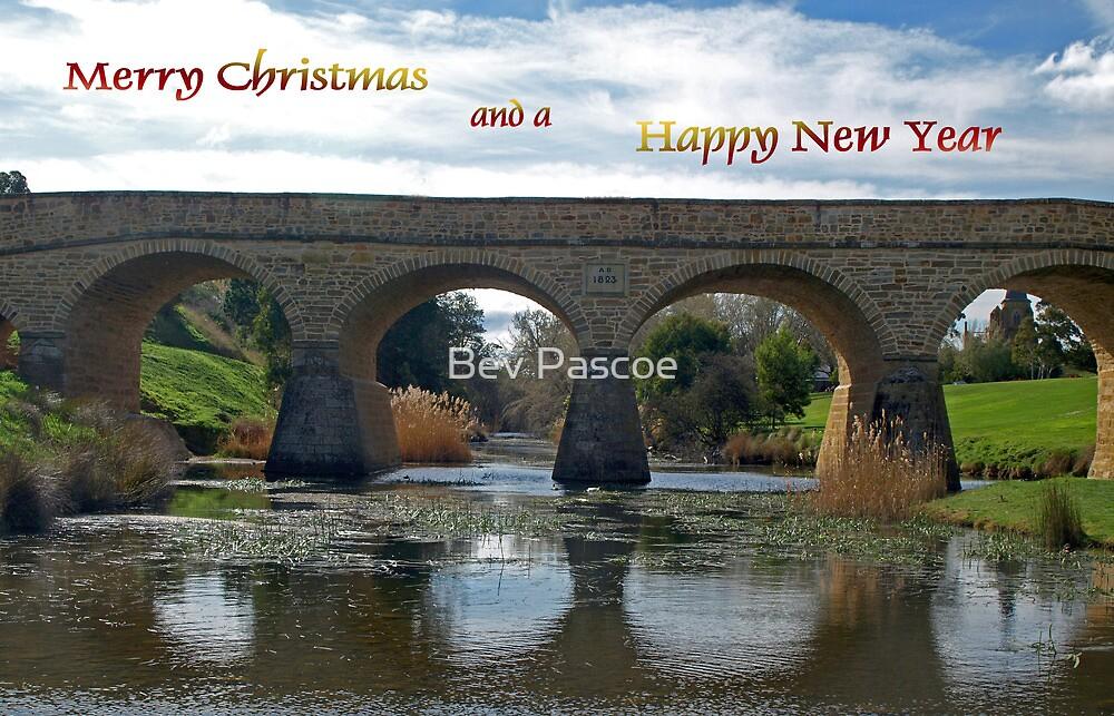 Richmond Bridge, Tasmania - Greeting by Bev Pascoe