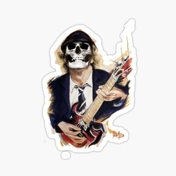 Autocollant AC//DC ACDC   Angus YOUNG  Bon SCOTT  Hard Rock  AC DC stickers
