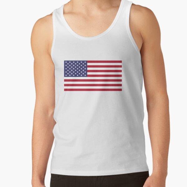 leo • theo   USA flag Tank Top