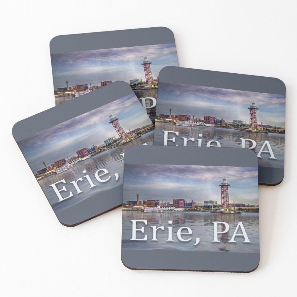 Erie Bayfront Coasters (Set of 4)