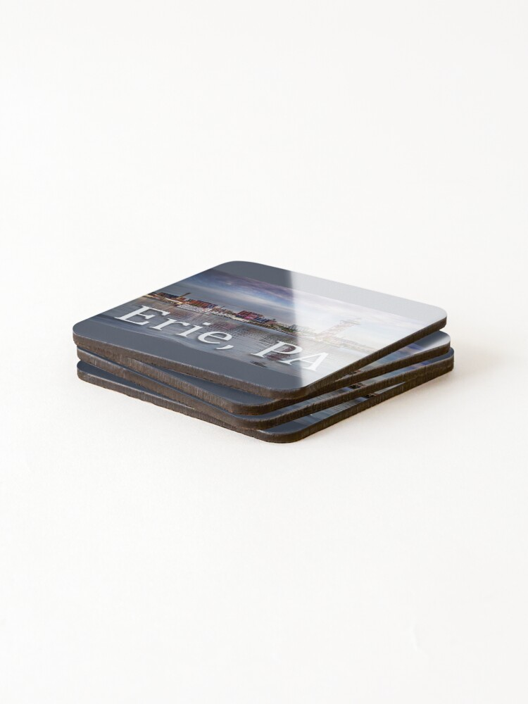 Alternate view of Erie Bayfront Coasters (Set of 4)