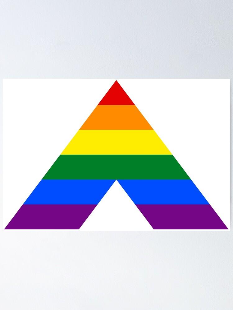 Straight Ally LGBT Pride Flag Luggage Tag