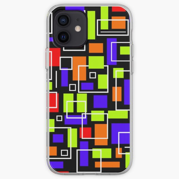 Scattered Squares iPhone Soft Case