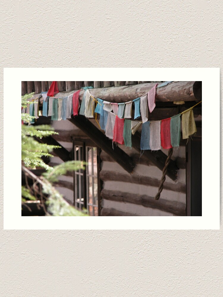 Alternate view of Prayer Flags Art Print