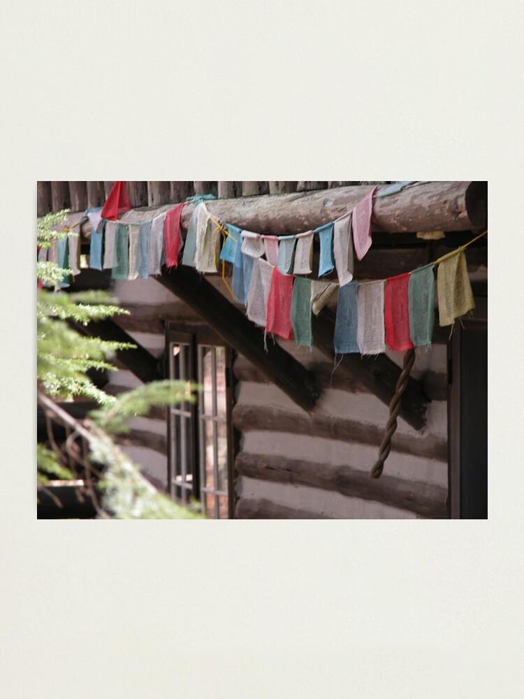 Alternate view of Prayer Flags Photographic Print