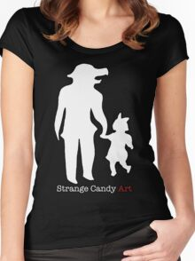 Strange Candy Art Women's Fitted Scoop T-Shirt