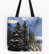 Coniferous island Tote Bag