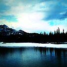 Mount Ice Lake  by JerryCordeiro