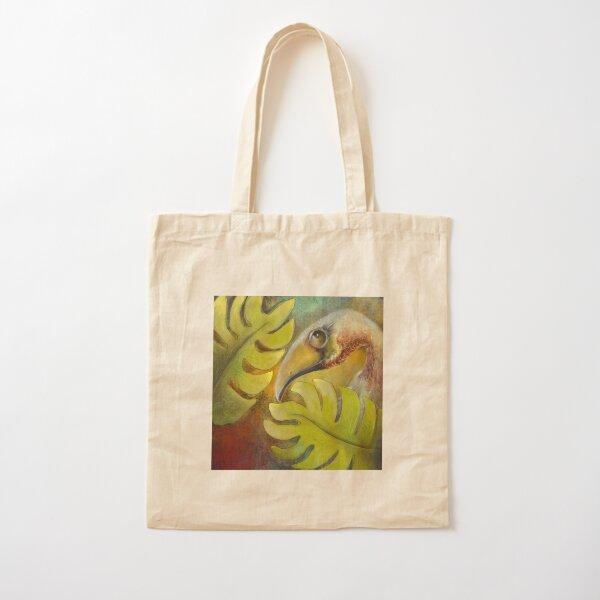 Tropical bird Cotton Tote Bag