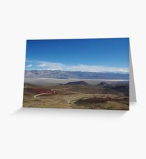Road to Death Valley Greeting Card