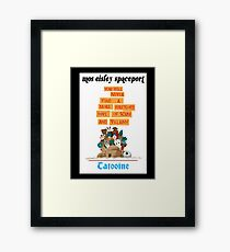 It's a Small Cantina Framed Print