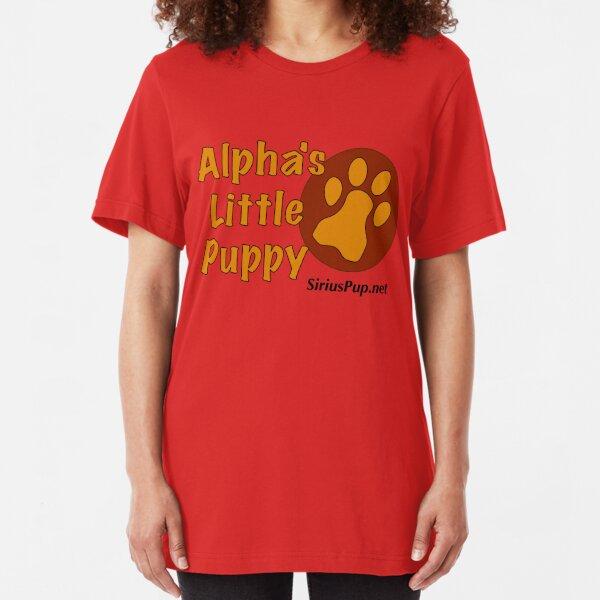 Alpha's Little Puppy Slim Fit T-Shirt