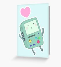 BMO loves you! Greeting Card