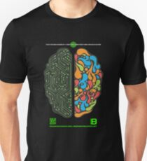 DEC 2012 MERCH LEFT RIGHT HEMISPHERE VISUALLY EXPLAINED T-Shirt