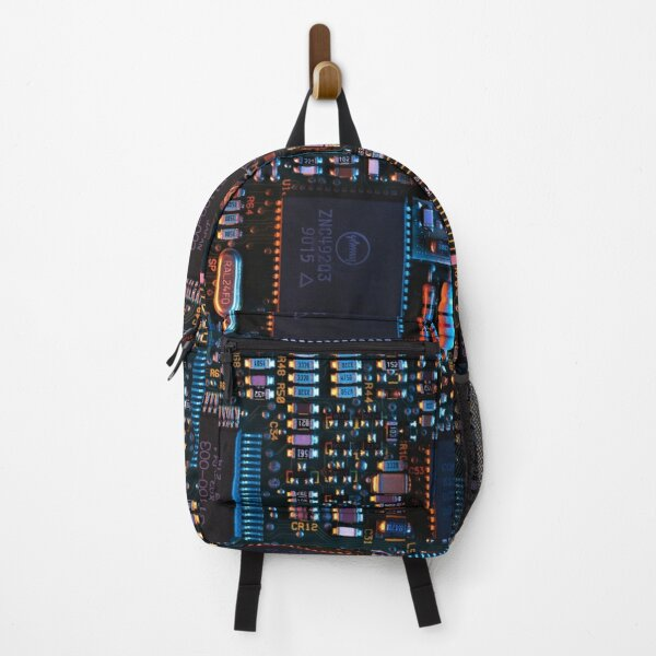 Computer Hardware Motherboard Mainboard On Shirts Bags And Gadgets Backpack