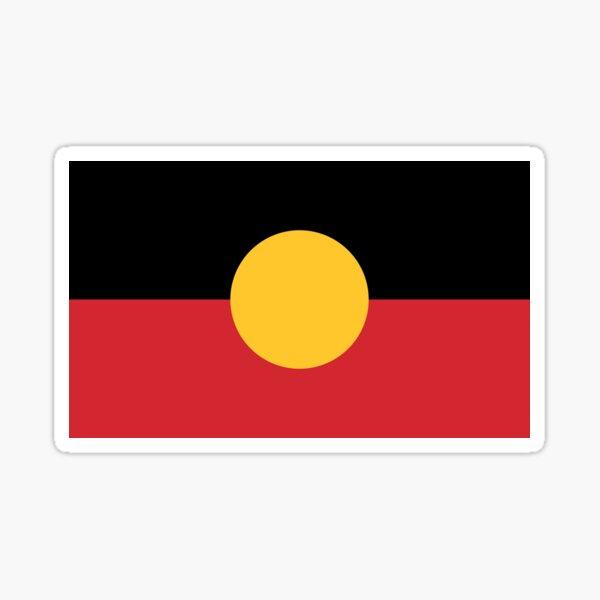 Australian Aboriginal Flag Sticker