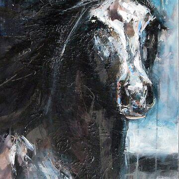 Dark Horse at Night by NinaSMART