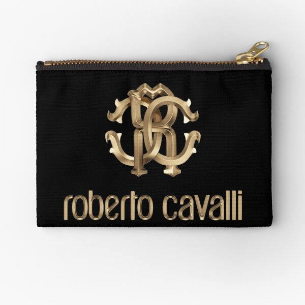 know yourself with the best clothes with roberto cavalli Zipper Pouch