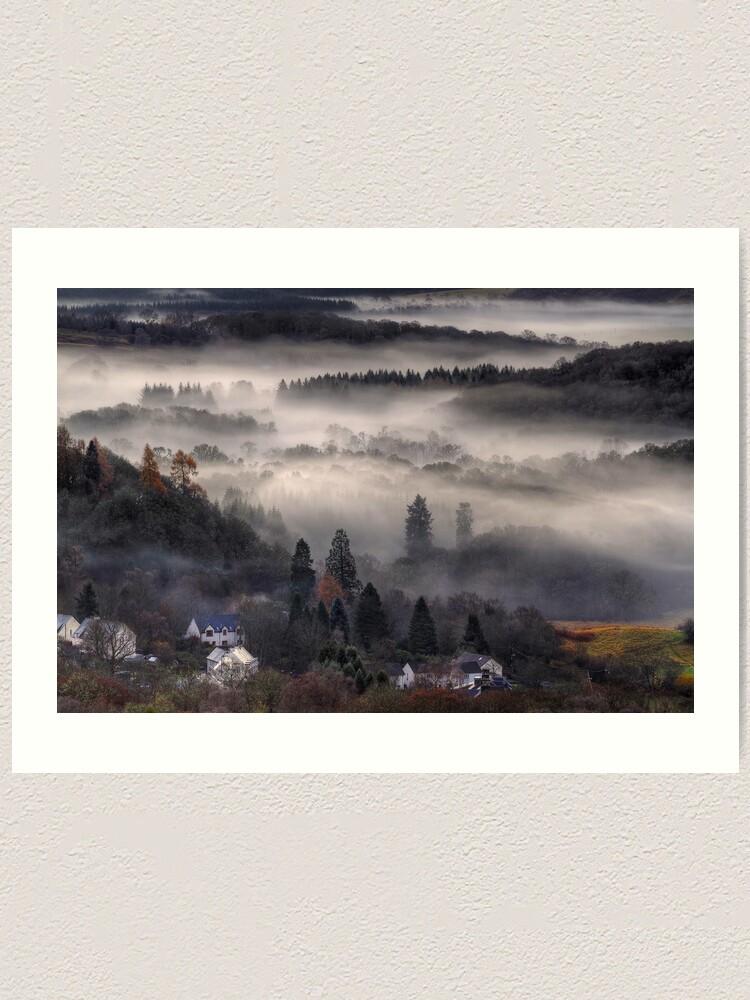 Alternate view of Aberfoyle Mist Art Print