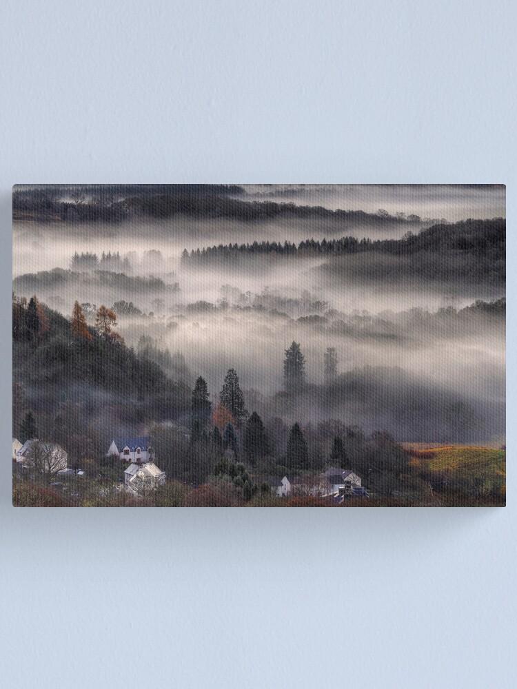Alternate view of Aberfoyle Mist Canvas Print