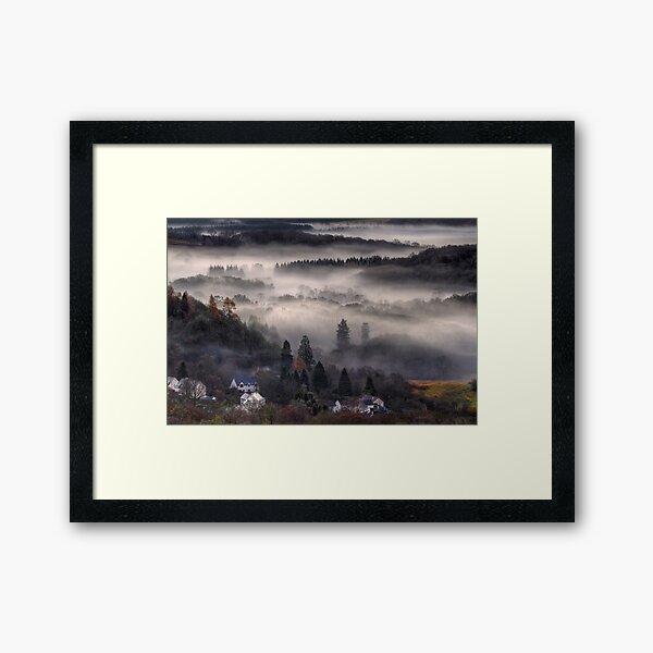 Aberfoyle Mist Framed Art Print