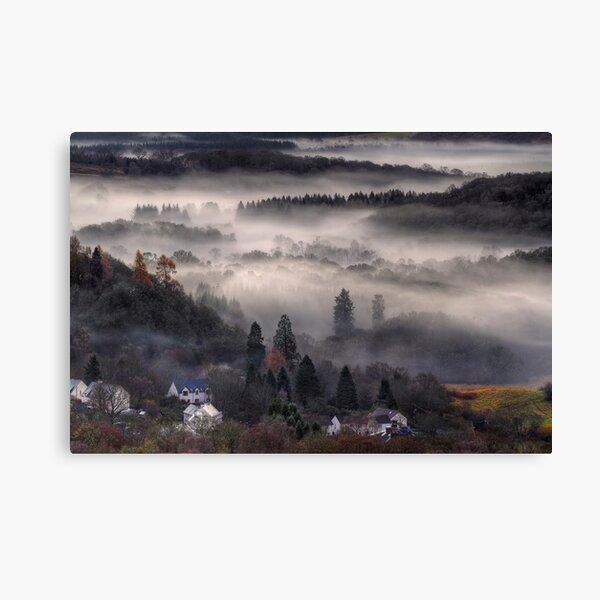 Aberfoyle Mist Canvas Print