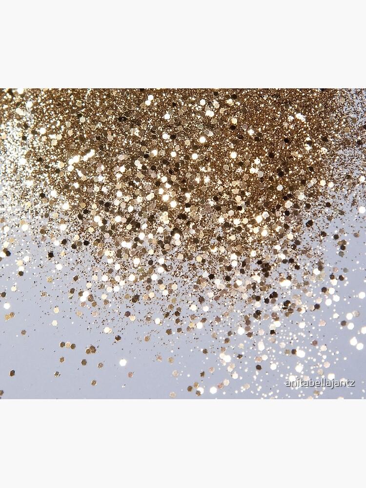Sparkling Champagne Gold Glitter Glam #1 (Faux Glitter) #shiny #decor #art  by anitabellajantz