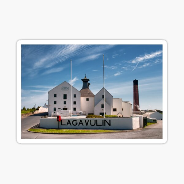 Islay: Lagavulin Sticker