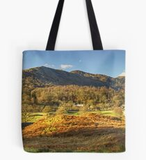 Elterwater Village..The Wider View Tote Bag