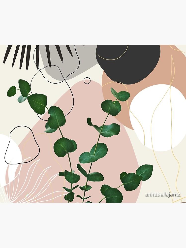 Eucalyptus Fan Palm Finesse #1 #tropical #decor #art by anitabellajantz