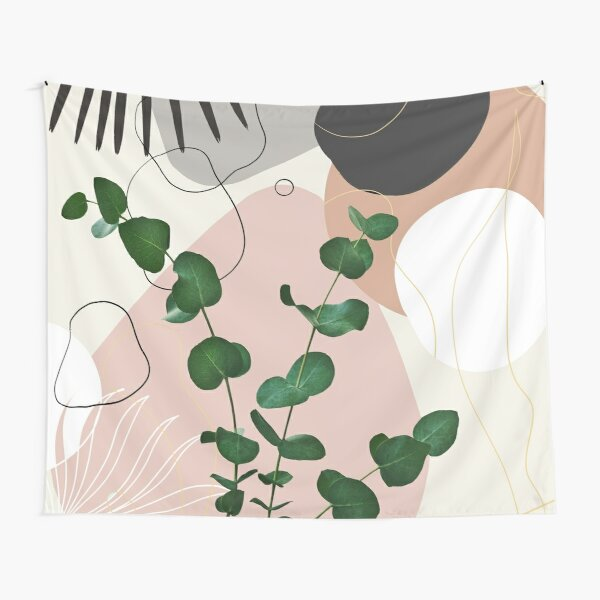 Eucalyptus Fan Palm Finesse #1 #tropical #decor #art Tapestry