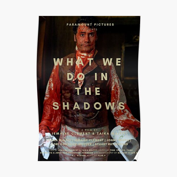 WHAT WE DO IN THE SHADOWS TAIKA WAITITI POSTER Poster