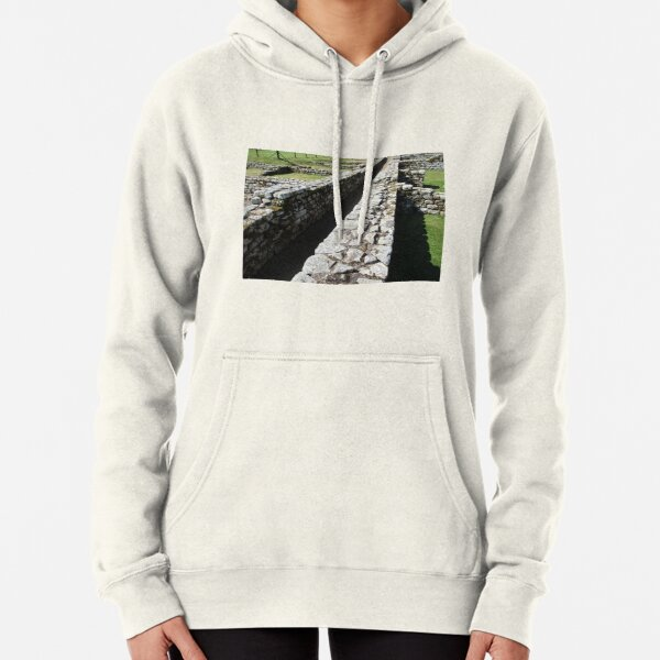 Merch #84 -- Rocks And Bricks - Shot 6 (Hadrian's Wall) Pullover Hoodie