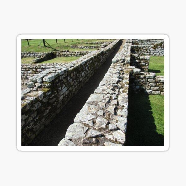 Merch #84 -- Rocks And Bricks - Shot 6 (Hadrian's Wall) Sticker