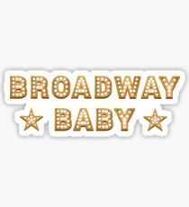 Broadway Baby Sticker