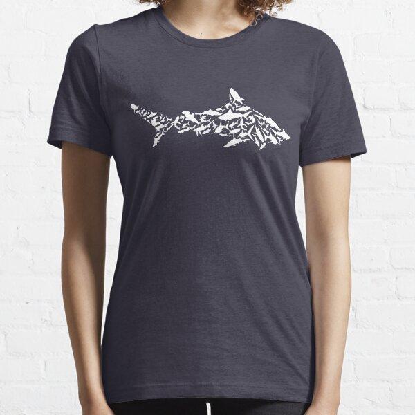 Shark Collage Essential T-Shirt
