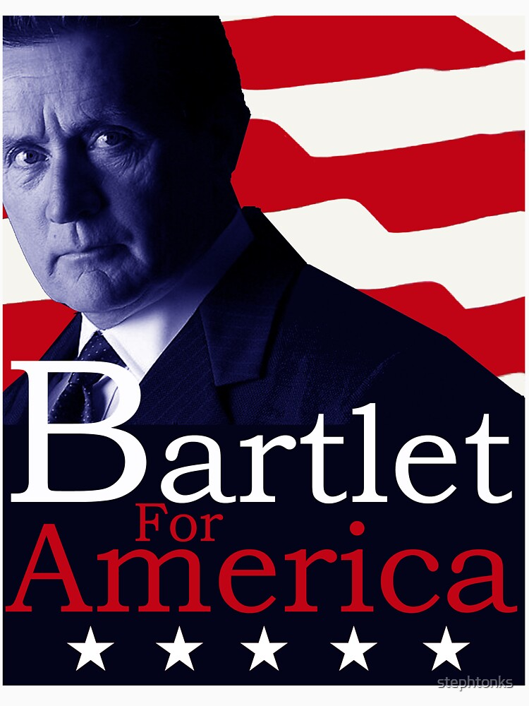 Bartlet for America - The West Wing by stephtonks
