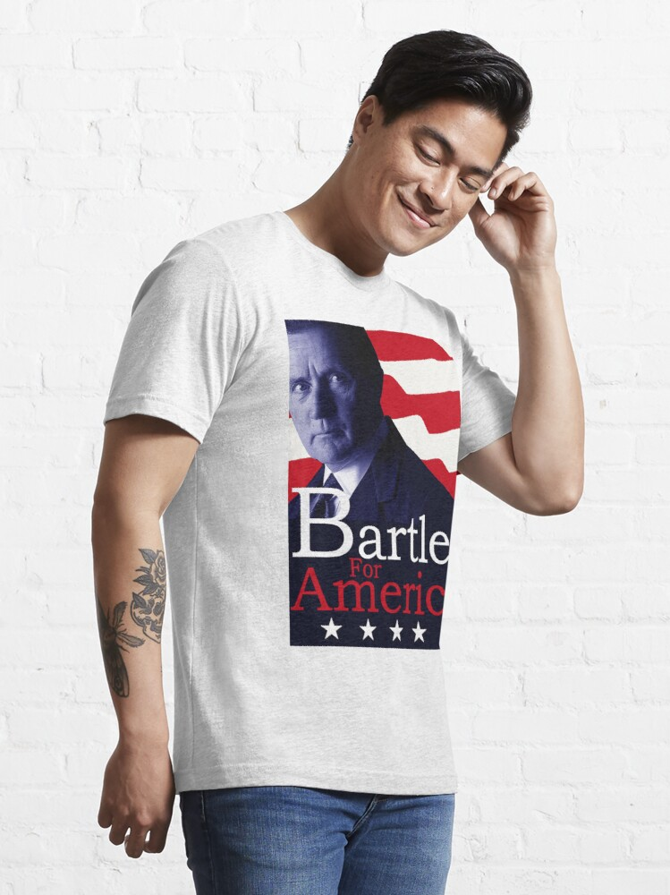 Alternate view of Bartlet for America - The West Wing Essential T-Shirt