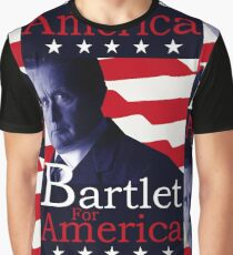 Bartlet for America - The West Wing Graphic T-Shirt