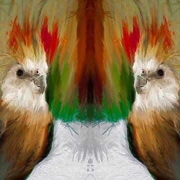 Cockatiel Painting by quintingellar