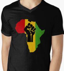 Africa Power Men's V-Neck T-Shirt
