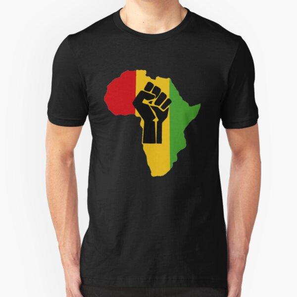 Africa Power Slim Fit T-Shirt