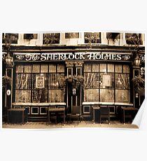 The Sherlock Holmes Pub Poster