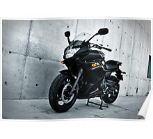 Yamaha Diversion F. Three quarters view Poster