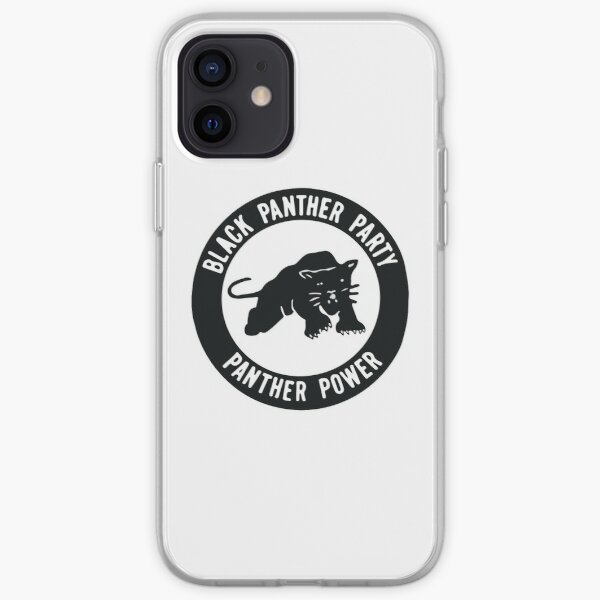 Black Panther Party - panther power iPhone Soft Case